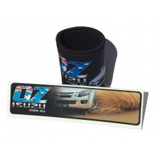 Ozisuzu Combo Deal 1 Stubby Holder and 1 Sticker