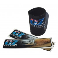 Ozisuzu Combo Deal 1 Stubby Holders and 2 Stickers