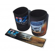 Ozisuzu Combo Deal 2 Stubby Holders and 1 Sticker