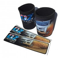 Ozisuzu Combo Deal 2 Stubby Holders and 2 Stickers